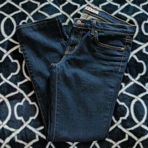 J Brand Petite Pencil Leg Skinny Jeans Size 28